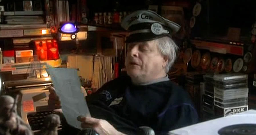 Harlan Ellison reading an alternative version of his essay on Ted Sturgeon.