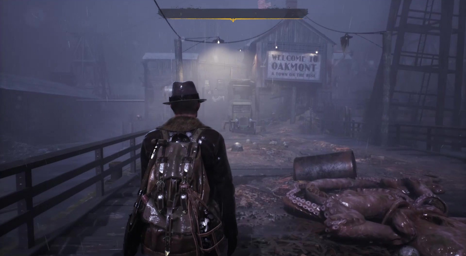 Welcome to Oakmont Massachusetts. The team behind the game studied architecture to build the streets of The Sinking City.