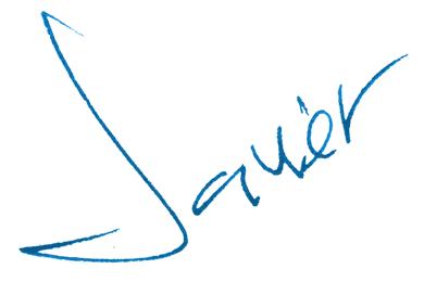 Javier Cabrera (Editor signature)