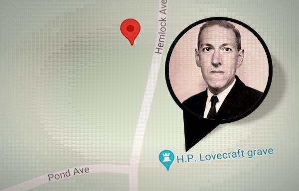 Lovecraft grave