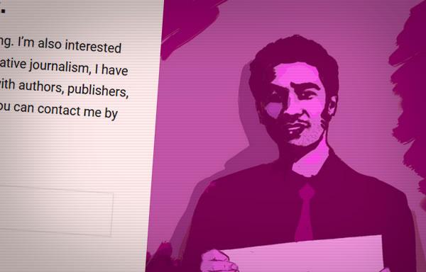 Shane C. Mitchell website screenshot