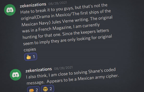 the verne club Discord